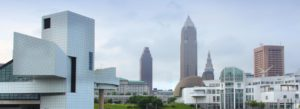 Header - Contact Us Cleveland Skyline